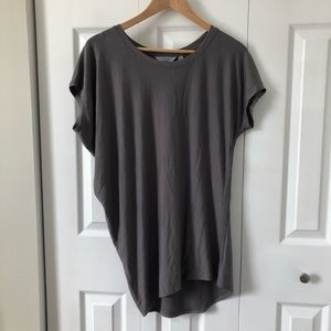 Athleta Threadlight Asymmetrical Relaxed Fit Tee